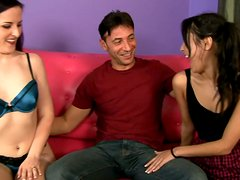 Ugly and slutty Caroline Pierce and Jesse Jordan are introduced to the world of porn industry