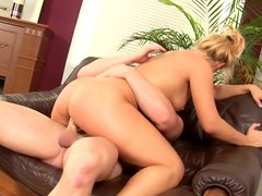 Delectable blonde bitch Janet gets hammered by Markus Waxenegger