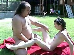 Stunning Jenny Anderson Gets A Shower From Ron Jeremy