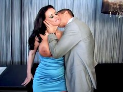 Gorgeous Kerry Louise sucks a delicious and hot shlong in the hotel