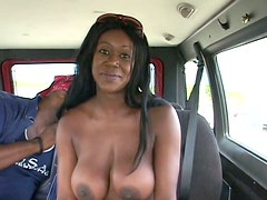 Mary Jane exposes her big hard black nipples
