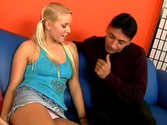 Cock addicted Raylene & Vanessa Cage gonna please Mario Cassini's dick