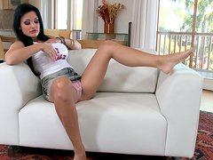Brunette seductress Aletta Ocean is a miracle of the plastic surgery