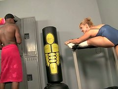 Flexible and sport girl Lea Lexis getting fucked by her trainer