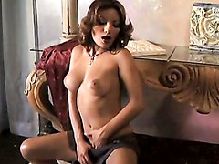 Sexy Babe Mari Possa Squeezing Her Meaty Jugs And Starts To Get Horny