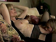 Nina Hartley Goes Lesbian Wild On The Couch Getting Her Muff Dived