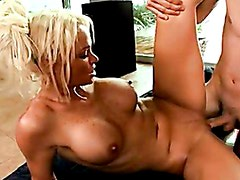 Scorching Whore Rhylee Richards Getting Screwed On Her Twat And Loves It