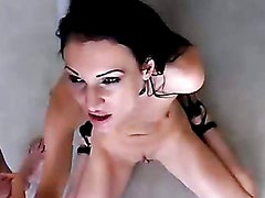 Hot Milf Victoria Sin With A Gobful Of Hot Man Goo