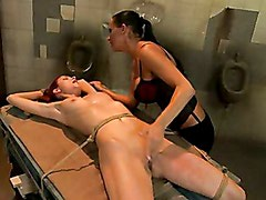 Mandy Bright Fingered Hard A Tied Sexy Chick