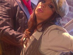 Classic gangster fucks sexy pawnshop owner Kirsten Price