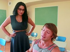 Sophia Lomeli is a hot seductive teacher