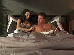 Amazing Alektra Blue loves to give blowjob to her boyfriend