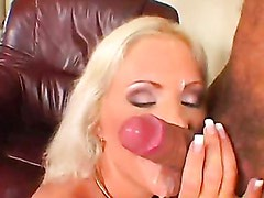Kathy Anderson Gets A Cream Jizz On Her Face