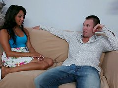 Bill has new neighbor sexy Latina Gia Steel