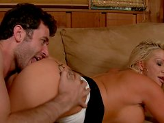 Beautiful bib-tit wife JR Carrington loves to be fucked hard