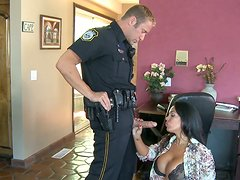 Sienna West prefers cops with strong cocks