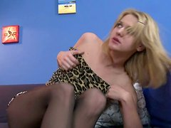 Ruth Folwer curvy blonde teen pussy abused and brutally fucked doggystyle.