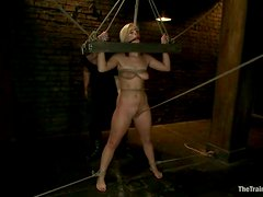 Sexy Tara Lynn Foxx gets toyed and fucked in hot BDSM video