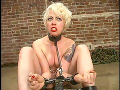 Lorelei Lee gets chained and enjoys toys in her pussy