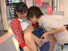 Kokoro Kawai seduces her groupmate and fucks him in her room