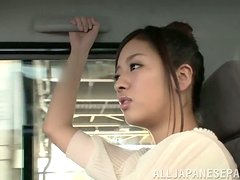 A cute amateur couple from Japan homemade humping