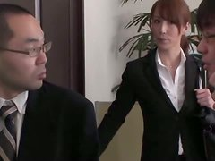 Reiko Sawamura gets dominated and toyed in the office