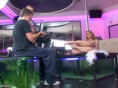 Fun video as we go backstage in the striptease bar