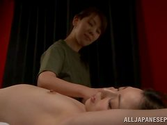 MILFs In The Military Ease Tension With Hot Wax Play