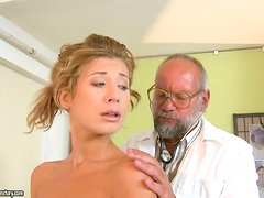 Dr. Funny always makes his patients scream, not laugh!