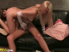 Cute Amateur Chick Masturbates & Then Gets Sex