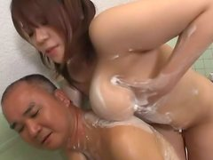 Mizuki the Asian model has nice big breasts