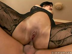 Kyra Lives For Cock Meat So She Gets Two