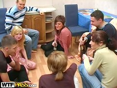Another Mad Party At The College Orgy Lodge