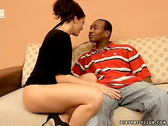 Big Black Cock Pounding for Experienced MILF Jami Kenney