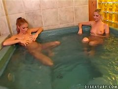 Hot Naughty Neighbors Love Having A Jacuzzi