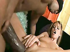 Wild babe Holly Wellin getting her twat cracked by a monster cock