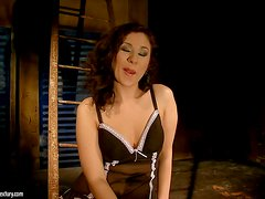 Patricia Dream Gets Punished with Bondage Toying and Fucking