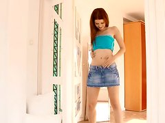 Delightful Redheaded Doll Dazzles Us In A Solo Show