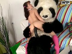 I Love My Panda Because He Loves To Fuck Me