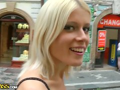 Private tour in Prague with a stunning blonde