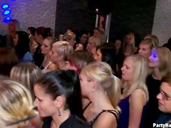 Girls Go Wild On Dick At Birthday Party