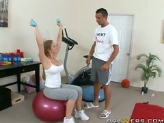 My Trainer Makes My Pussy Wet