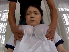 Big Boob Asian Teen Babe In A Tight And Wet Shirt Fondled
