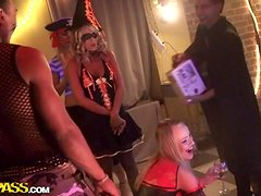 Fancy Dress Party A Cover For Group Sex