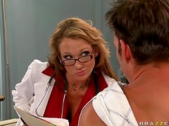 Horny Doctor Nikki Sexx Wants To Feel His Cock Inside Her Pussy