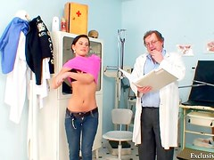 Doctor likes small titty patients