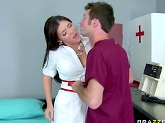 Anal sex with her doctor