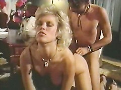 Lusty blonde Amber Lynn gets fucked the way she always wished for