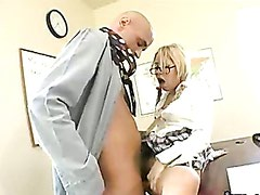 Cute blonde bitch Kat getting pounded on her sugary sweet pussy