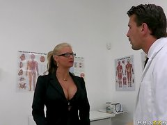 Doctor Orgasm Gives One To Phoenix Marie After Fucking Her Ass